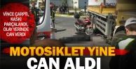 Gümüşlerdeki motosiklet kazasında bir kişi öldü