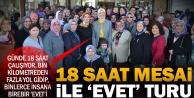 Ramazanoğlunun referandum çalışmaları tam gaz