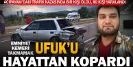 Acıpayam'daki trafik kazasında bir kişi öldü