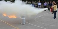 Büyükşehir çalışanlarına 'Acil Durum tatbikatı