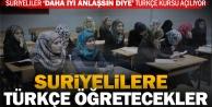 Suriyeliler için Türkçe Kursu