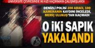 Üniversite çevresinde iki kızı kaçırmaya çalışan iki sapık Yeşilovada yakalandı