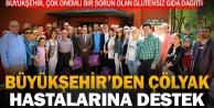 Büyükşehir#039;den çölyak hastalarına gıda desteği