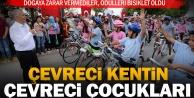 Büyükşehirden çevreci okullara bisiklet ödülü
