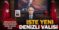 Denizlinin yeni valisi Hasan Karahan oldu