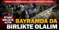 Gönül sofrası Karşıyaka'da kuruldu