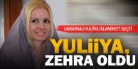 İslamiyeti seçen Ukraynalı kadın, Zehra ismini aldı