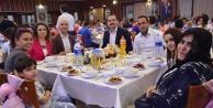 Sarayköy'de anlamlı iftar yemeği
