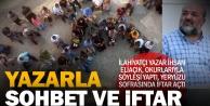 Yazar İhsan Eliaçıkla sohbet ve iftar