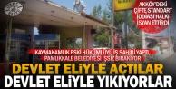 Akköy'de çifte standart iddiası