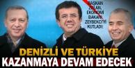 Başkan Zolandan Zeybekciye kutlama mesajı