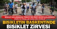 Bisikletin yaşam biçimi olduğu ilçe Çivril'de bisiklet buluşması
