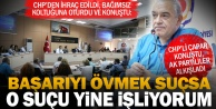 CHPden ihraç edilen Meclis üyesi Çapardan partisine vicdansızlık suçlaması