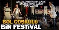Kızılcabölük Festivali'ne yoğun ilgi