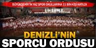 Yaz Spor Okulları#039;na rekor katılım