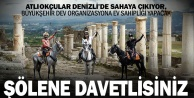 Atlı Okçuluk Türkiye Şampiyonası yarı finali Denizlide