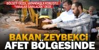 Bakan Zeybekci selin vurduğu Serinhisar'da