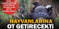 Çivril'de traktörün altında kalan çiftçi kurtarılamadı