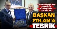 Cumhurbaşkanı Erdoğandan Başkan Osman Zolana ziyaret