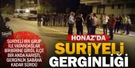 Honaz'da Suriyeliler gerginlik yarattı