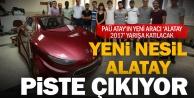 PAÜnün yeni aracı 'Alatay 2017 yarışa katılacak