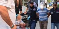 Saltaktaki bıçaklamanın faili Dinarda yakalandı