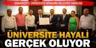 Sarayköy Belediyesi bina yapacak, ilçeye üniversite gelecek