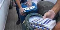 Zuladan 36 bin paket sigara çıktı
