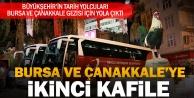 Bursa ve Çanakkale#039;ye ikinci kafile uğurlandı