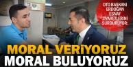 DTO Başkanı Erdoğan esnaf ziyaretlreni sürdürüyor