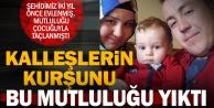 Şehit Muhammet Arıkan, 18 ay önce baba olmuştu