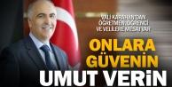 Vali Karahandan yeni eğitim yılı mesajı