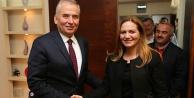 Acıpayam AK Partiden Başkan Zolana ziyaret