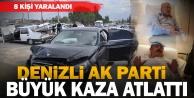 AK Partili Vekil Tin#039;in otomobili kaza yaptı: 8 yaralı