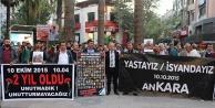 Ankara katliamında ölenler, Denizli#039;de anıldı