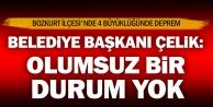 Bozkurt Belediye Başkanı Çelik: Olumsuz bir durum yok