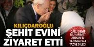 CHP Lideri Kılıçdaroğlu, Denizli#039;de şehit evini ziyaret etti