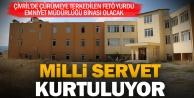 Çivril'deki FETÖ yurdu Emniyet binası oluyor