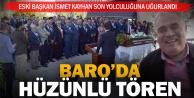 Eski Baro Başkanı Kayhan son yolculuğuna uğurlandı