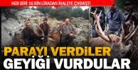 İhaleyi kazanan iki avcı Çivril'de avlandı
