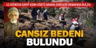 Kayıp yaşlı adam, ormanlık alanda ölü bulundu