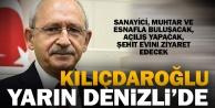 Kılıçdaroğlu, 12 Ekim#039;de Denizli#039;de