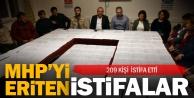 MHP Denizliden 209 kişi daha istifa etti