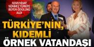 """Örnek Kıdemli Vatandaş Ödülü"""" Ozan Nihata"""
