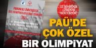 PAÜde özel sporcular için özel olimpiyat