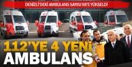 112ye 4 yeni ambulans