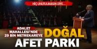 Büyükşehir#039;den Denizli#039;ye Doğal Afet Parkı