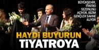 Büyükşehir tiyatro sezonunu açıyor