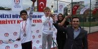 Büyükşehirden tenis turnuvası