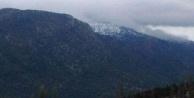 Çameli'ye kar yağdı